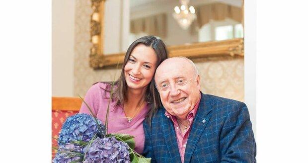 Lucie Gelemová a Felix Slováček oslavili šesté výročí.