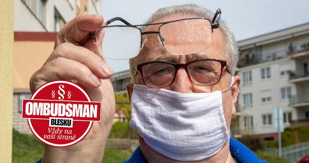 Slíbili mi, že se zbavím brýlí …jenže to bylo jen na 14 dní!