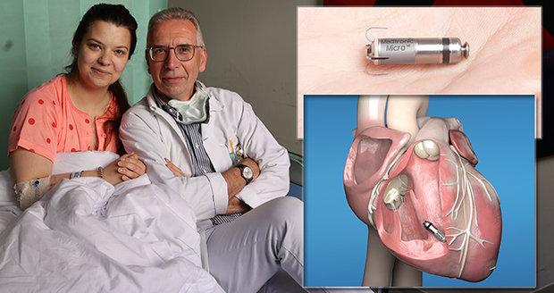 Nikola má za sebou operaci, při níž dostala do srdce unikátní typ kardiostimulátoru.
