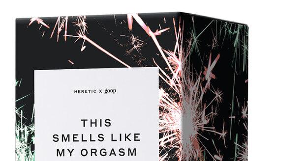 Svíčka Gwyneth Paltrowové, která prý voní jako její orgasmus.