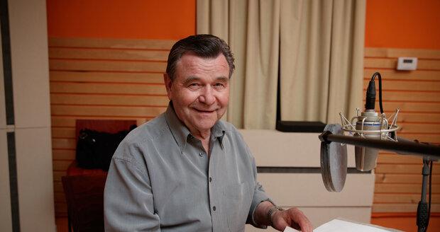 Nahrát poselství Václav Postránecký ještě zvládl.