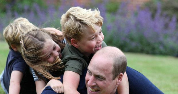 William se nechal slyšet, že mu na oslavě bude chybět jeho otec, se kterým se v poslední době a po útěku bratra Harryho do zámoří hodně sblížil, ale rozesmáté děti mu to jistě vynahradily.
