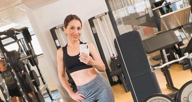 Michaela Kuklová se nešetří: Takhle si dává do těla v posilovně!