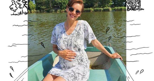 Těhotná moderátorka Gabriela Lašková opouští televizní obrazovky a nastupuje na mateřskou.