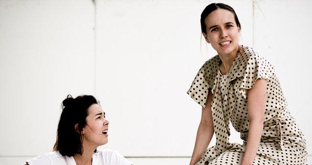Tereza Ramba při zkouškách představení Meda