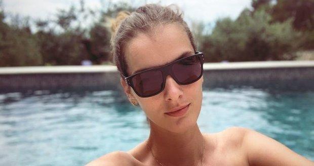 Denisa Dvořáková na dovolené