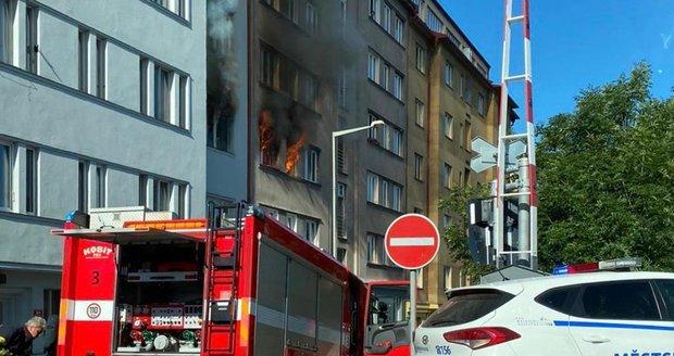 Výbuch bytu ve Strojnické ulici v Holešovicích, 1. 7. 2020