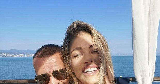 Jasmina a Rytmus na dovolené v Chorvatsku.
