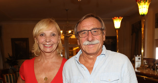 Pavel Zedníček s Hankou Kousalovou.