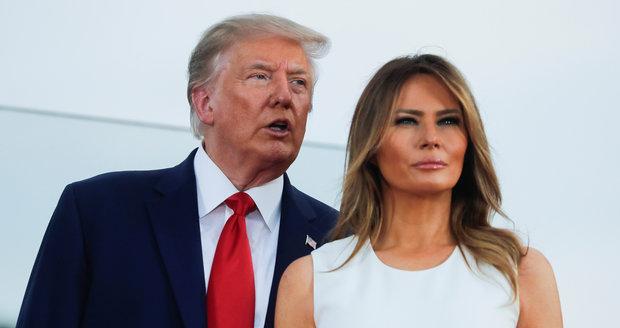 Trump a Melania mají koronavirus, prezidenta léčí remdesivirem. Co vzkázal lékař?