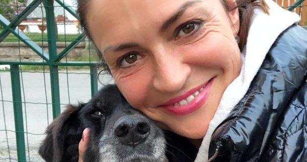 Hanka Kynychová má srdce plné bolesti. Zemřel totiž cvičitelčin milovaný pes.