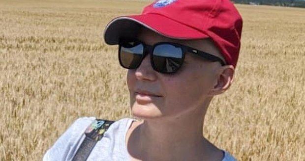 Aneta Parišková na výletě