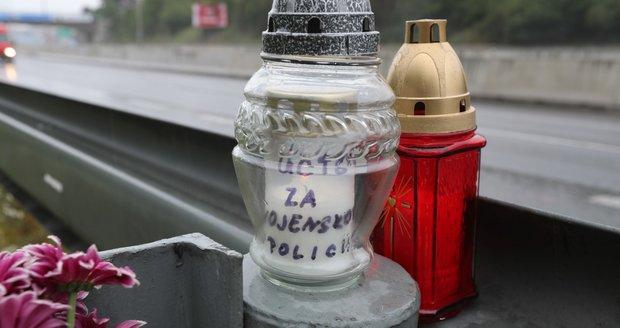 Pavol K. má na místě, kde zemřel, vzpomínkový pomníček.