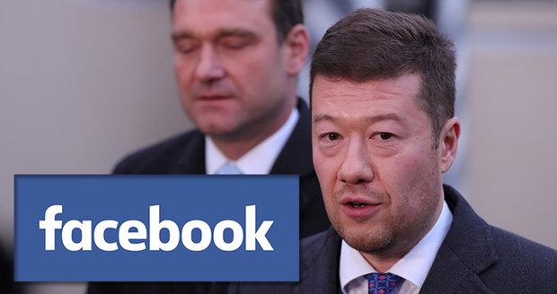 Facebook chce zrušit stránky SPD, Okamury i jeho pravé ruky. Kvůli porušení pravidel