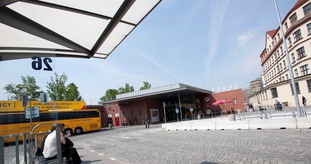 Autobusové nádraží v Praze na Florenci