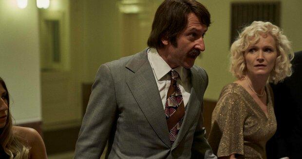 Martin Hoffman jako Pavel Landovský ve filmu Havel