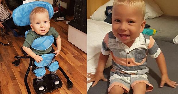 Maxík dělá zázraky po podání nejdražšího léku: Rodiče poslali velké díky všem!