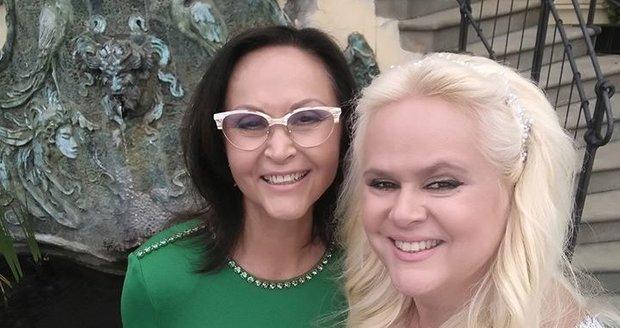 Monika Štiková s maminkou Jindřiškou