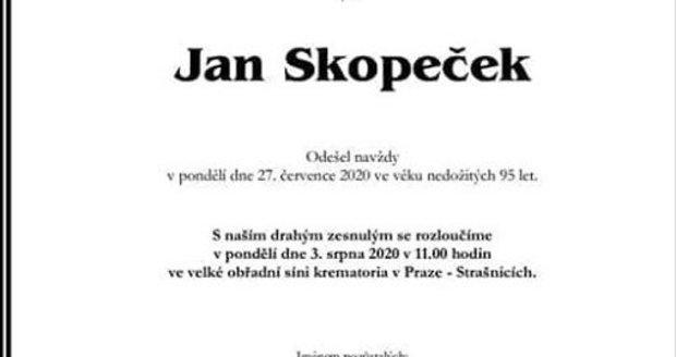 Parte herce Jana Skopečka