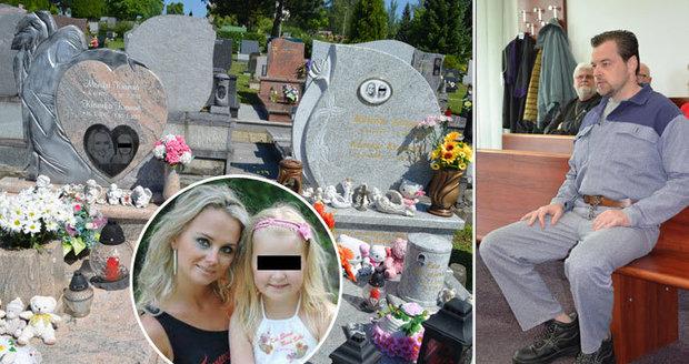 Sedm let od vraždy Moniky (†36) a Klárky (†8) Kramných: O hroby se starají znepřátelené rodiny