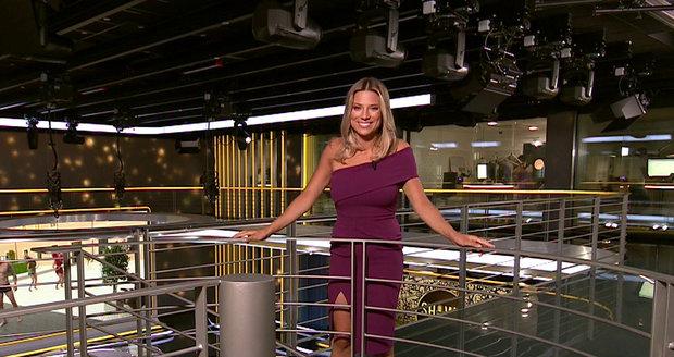 Eva Perkausová v pořadu Showtime