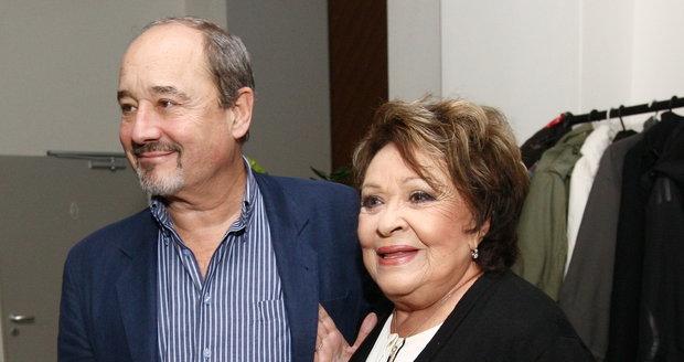 Jiřina Bohdalová a Viktor Preiss