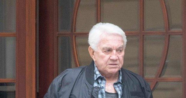Jiří Krampol po smrti manželky Hany Krampolové
