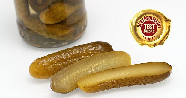 Jak kvalitní jsou nakládané okurky o obchodu? Odpoví spotřebitelský test Blesku.