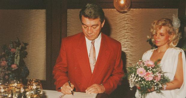 Miloslav Šimek měl zásluhu na tom, že si Jiří Hanku vzal.