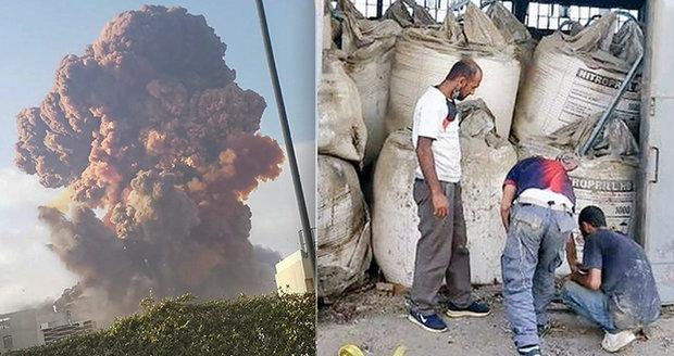 Mohutná exploze v Bejrútu: Takhle skladovali výbušné chemikálie?! Patřily prý ruskému miliardáři