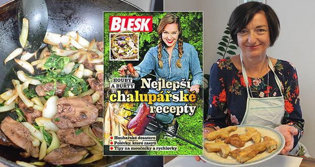 Kuchařka Nejlepší chalupářské recepty už v pátek zdarma v Blesku.