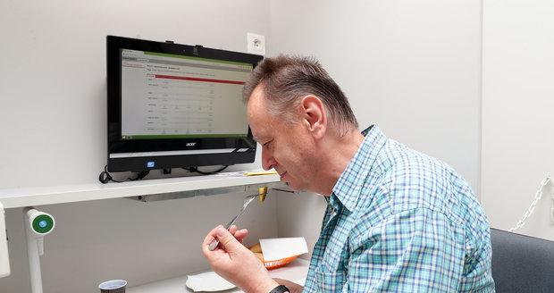 Senzorické hodnocení nakládaných okurek.