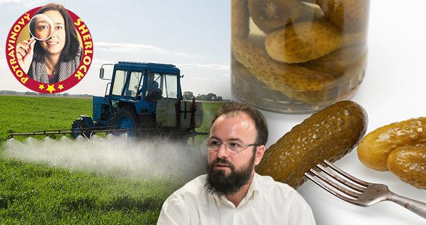 Spotřebitelský test Blesku odhalil v nakládaných okurkách zakázaný pesticid. Případ už řeší Státní zemědělská a potravinářská inspekce.