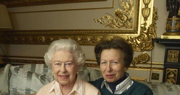 Královna Anna a její dcera princezna Anna