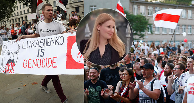Češka Veronika, kterou unesli v Bělorusku: Lukašenko je psychopat, brutalita mě vyděsila