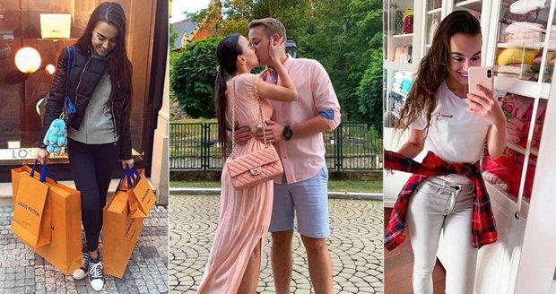 Zhýčkaná novomanželka Jirky Krále: Desítky luxusních kabelek za statisíce!