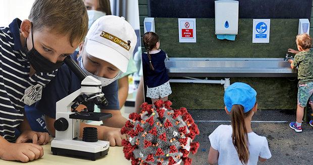 Koronavirus ONLINE: Roušky se vrací i do škol. A nákaza u Pirátů