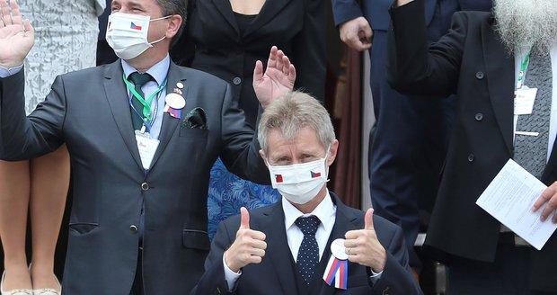 """Vystrčil po ostré kritice z Číny: """"Já jsem Tchaj-wanec."""" Česka se zastala Čaputová i Francie"""