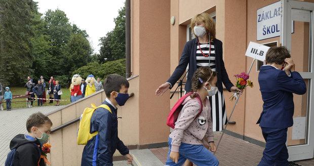 Dvě desítky škol neotevřely kvůli koronaviru. A zahájení školního roku bez Zemana i Babiše