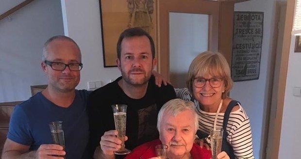 Ladislav Potměšil oslavil 75. narozeniny v kruhu rodinném.