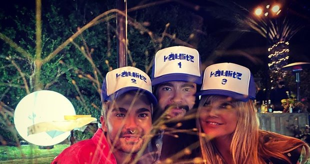 Heidi Klum slavila narozeniny manžela a jeho bratra