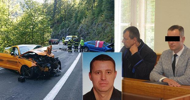 Tragická nehoda mustangu u Špindlu: Ženu generála (†49) čeká další operace! Řidič u soudu uznal chybu