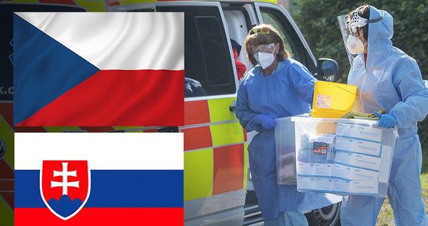 """""""Hrozivý nástup epidemie."""" Slovenský expert se křižuje před ČR, vláda rozhodne o zákazu"""