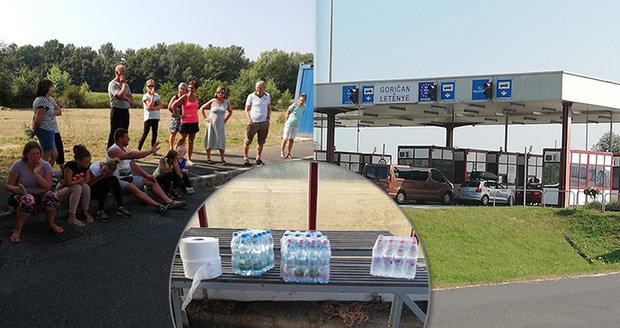 Autobus s českými turisty drželi půl dne na chorvatských hranicích: Bez jídla trpěly i děti!
