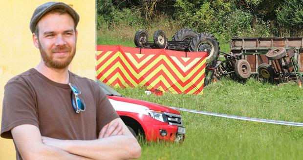 Výtvarník David Böhm přišel při nehodě traktoru o syna (†15): Zdrcený otec promluvil
