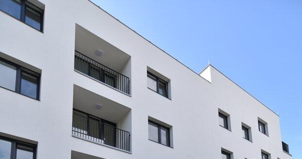 Nové byty jsou v tomto domě na Valchařské ulici.
