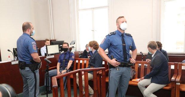 Tomáš F. a Jiří N. u soudu 23. září 2020.