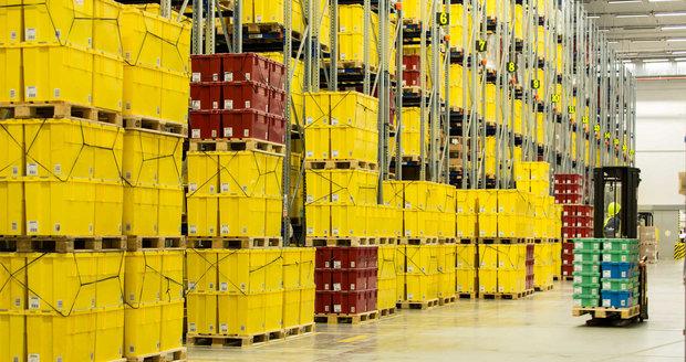 Interiér LEGO továrny