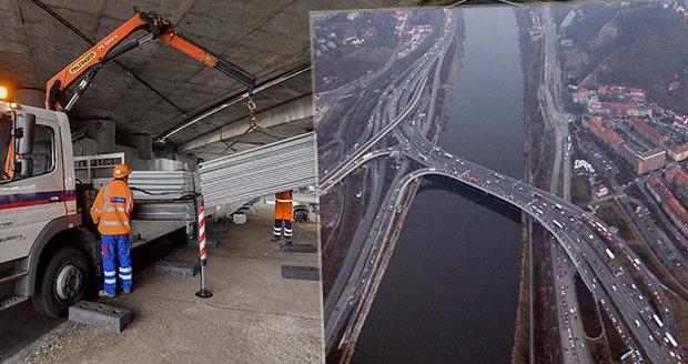 Nový Barrandovský most: Opravy za 600 milionů zahájeny! Pomůžou i potápěči, řidiče čekají omezení