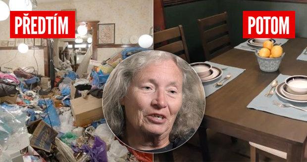 Máma žila v bytě s 50 tunami odpadků: Když je odvezli, nestačila se divit